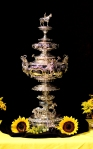 The trophy for the second jewel of the Triple Crown