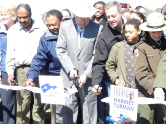 Ribbon Cutting for Underground Railroad  Byway