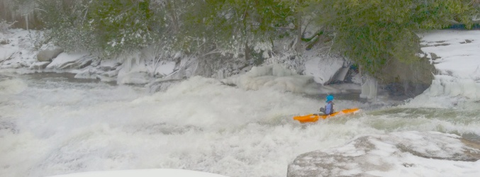 It's always kayaking season at Swallow Falls State Park in Western Maryland.