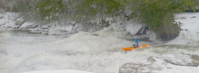 It's always kayaking season at Swallow Falls State Park in Western Maryland.