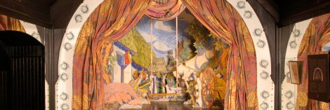Bakst Stage Set at Evergreen House