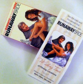 "One of my most popular blogposts: Berlin remembers the shooting of ""Runaway Bride"" with a Runaway Bride walking tour. Get a brochure at the Chamber of Commerce on Main Street."