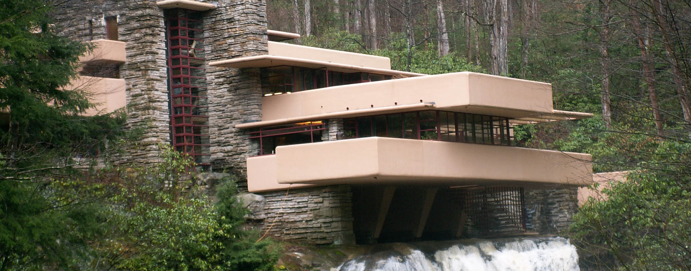 Western arts and crafts - Frank Lloyd Wright Designed Fallingwater In Western Pennsylvania For The Kaufmann Family Built Between 1936 And 1939 It Is A National Historic Landmark