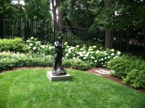 "Auguste Rodin's bronze ""Balzac."""