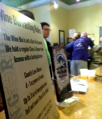 On  a recent Saturday, Heavy Seas, a local microbrewery, took over the beer tasting for the afternoon.