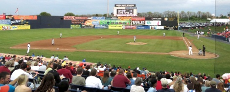 Harry Grove Stadium is home to the Frederick Keys.