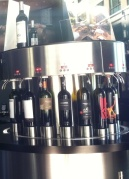 "The Tasting Room has wines ""on tap."""