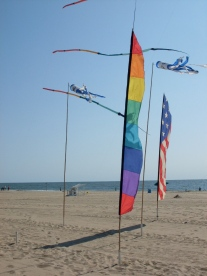 Go fly a kite. The beach has plenty of room for it in the fall.