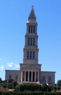 The Masonic Temple in Alexandria has an awe-inspiring tribute to George Washington.