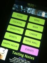 Your high-tech menu at Silo.5%.