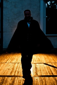 """""""Dracula"""" is appearing in the ruins of the Patapsco Female Institute throughout October."""