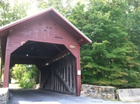 One of three covered bridges in Frederick County.