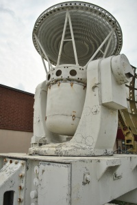 The radar array at the National Electronics Museum will point the way to the museum.
