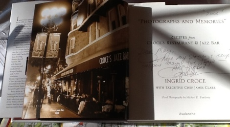 Photographs and Memories is the latest cookbook from Ingrid Croce.