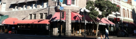 Croce's Restaurant and Jazz Bar are in the Gaslamp Quarter of San Diego.