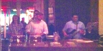 Agua Dulce played in the bar the night we were there. Someone plays every night.