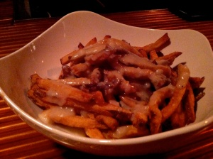Seasoned fries with Natty Boh gravy.