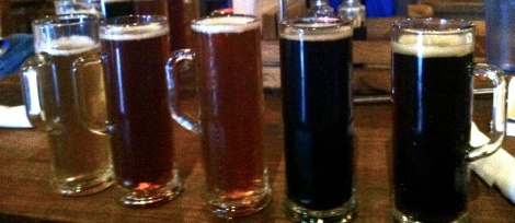 Can' decide on a beer. Get'em all. They come in this little beer mugs.