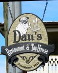 Need a beer? Dinner in a historic setting? See Dan (named for Nora's son, who operates this newcomer on Main St.)