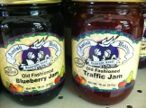 Amish-made jams were one of the reasons I stopped here.
