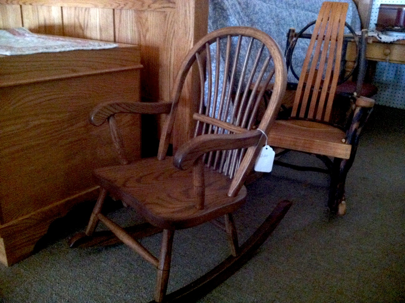 Rocking Chairs At Country Furniture And Crafts.