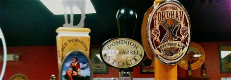 Fordham and Dominion have their brewery in Dover.