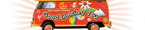 Kent County's tourism folks came up with a five site tour designed to put visitors in good spirits.
