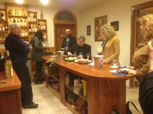 The tasting room at Pizzadili Vineyard and Winery.