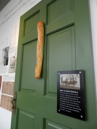 How they used to deliver bread. You needed a nail on your door.