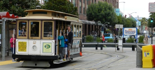 Cable cars aren't the only way to get around San Francisco but they are the most fun.