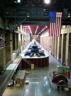 Hoover Dam's power plant