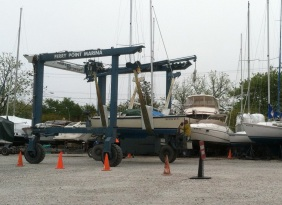 Time for Seabrina to get back to work as sailing season gets underway.
