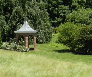 The gardens of Winterthur need an hour or more on these sunny summer days.