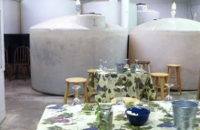 All the wine Irvin House produces are made here. Tastings are held among the fermenting tanks.