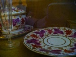 China used in the Allan home in Richmond. The family took the boy in after his parents died.