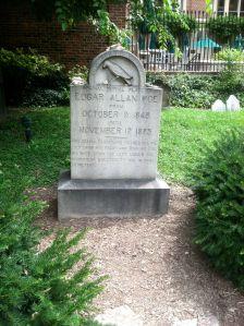 The original grave.