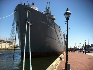 The Brown, docked in Fells Point