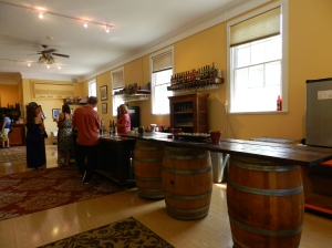 St. Michaels Winery's bright sorta new tasting room.