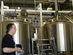 Assistant brewmaster Justin explains how barley, malt, hops, water and sugar turn into a delicious brew.