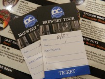 Tour tickets are $10 and include a pint glass and three samples of their beer.