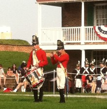 Tattoos and other ceremonies remind those of us who take Fort McHenry for granted just how special the place is.