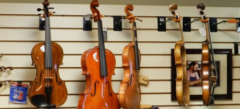 Order a custom-made violin or have your own repaired at Hershey Violins.