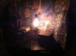 Inside Hogsworts castle.