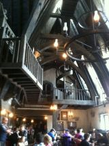 Hog's Head Pub is a treat for the eyes. The food is fun, too.