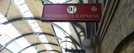 The Hogwarts Express runs between Diagon Alley and Hogsmeade.
