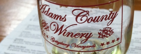 Adams County Winery wasn't on my original itinerary but road signs convinced me to stop.