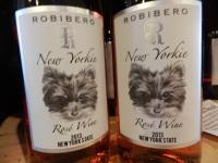 Robibero Family Winery has a very long wine list.
