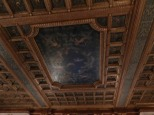 Even a ceiling in the Vanderbilt Mansion takes your breath away.