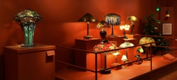 Who doesn't love a Tiffany lamp? The Morse has some spectacular examples.