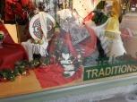Irish Traditions mix with Christmas traditions in this Main Street store.